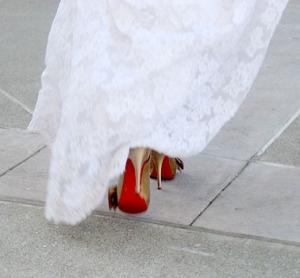 Louboutin Wedding Shoes : love love love
